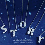 Audrey Alphabet Charm Necklace