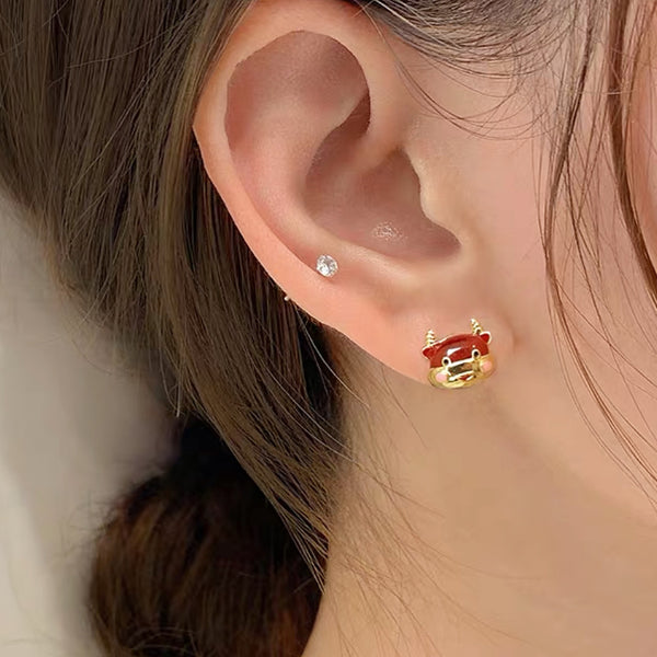 CNY Ox Earrings