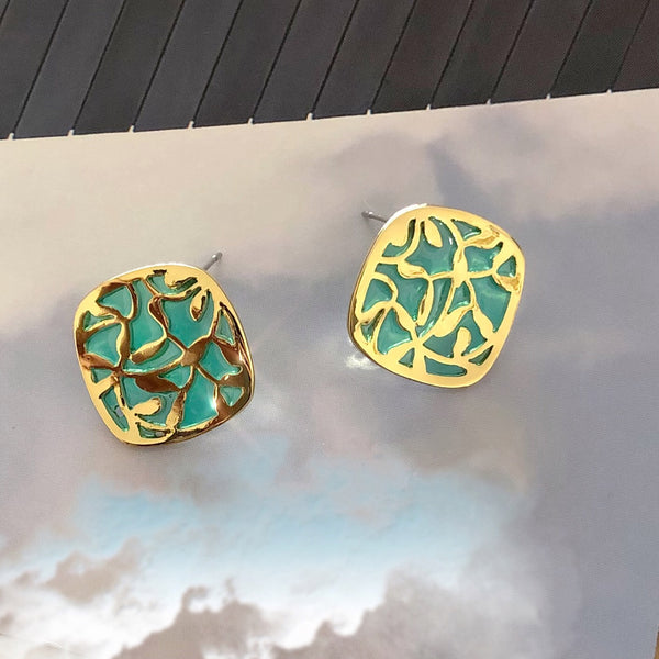 Fresh Pattern Earrings