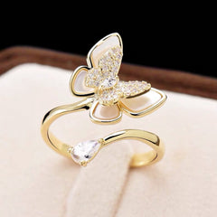 Audrey Butterfly Element Ring