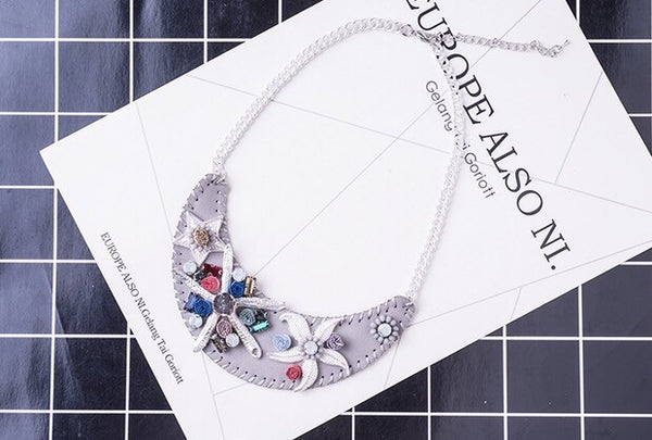Summer Paradise Statement Necklace