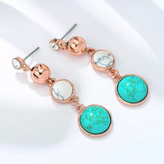 Oriental Marble Dreams Earrings