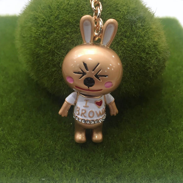 Limited Edition Cony Love Brown Bag Charm