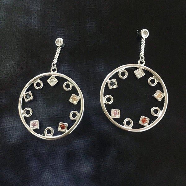 Geo Hallow Earrings