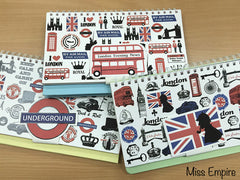 London Theme Scrapbook