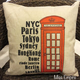Cushions - London Phone Booth