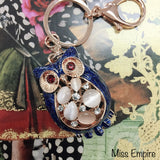 Wise Owlet Bag Charm