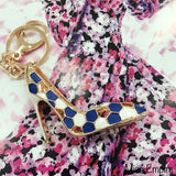 Spotted High Heels Bag Charm
