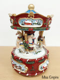 Whimsical Carousel - Let It Snow
