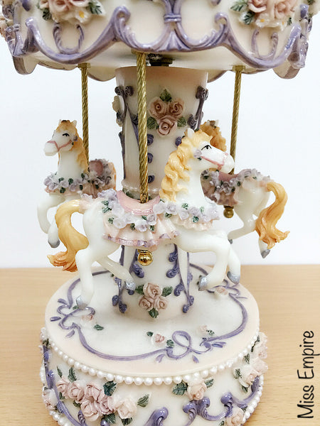 Whimsical Carousel - Enchanting Garden