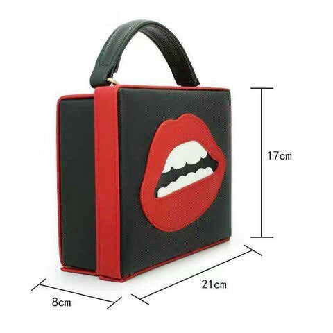 Sexy Lip Popart Bag