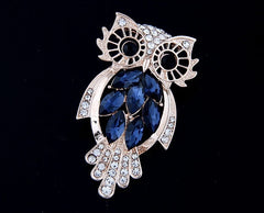 The Wise Owl Brooch