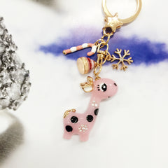 Dreamy Giraffe Bag Charm