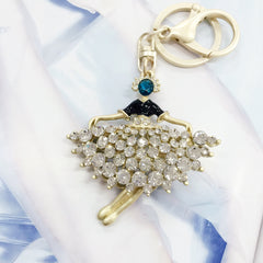 Dancing Ballerina Bag Charm
