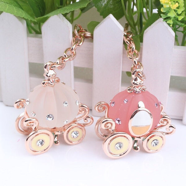 Cinderella's Carriage Bag Charm
