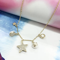 Charming Stars Necklace