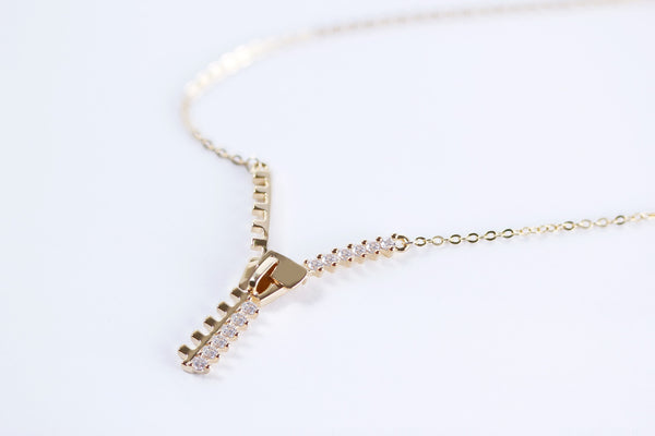Stylish Zipper Necklace