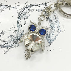 Courageous Owl Bag Charm