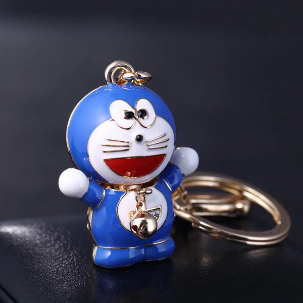 Abstract Doraemon Bag Charm