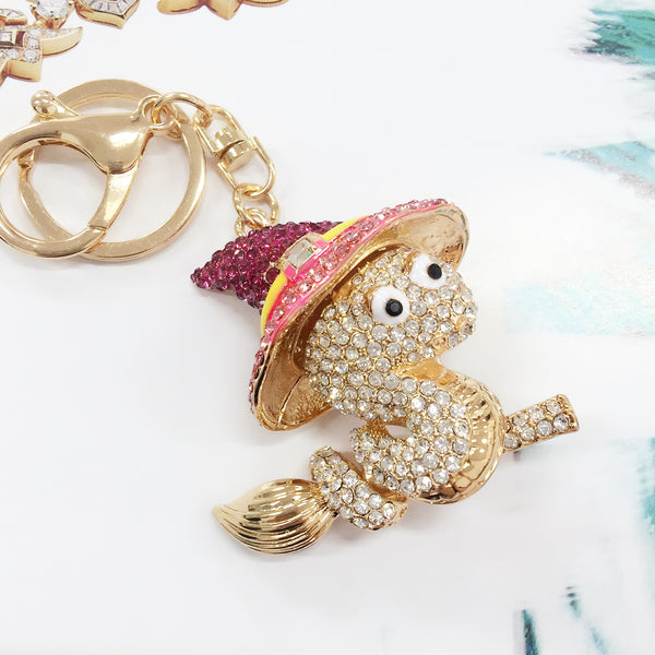 Whimsical Snake Bag Charm