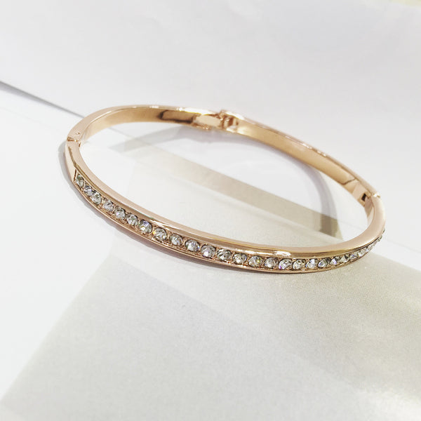 Classic Crystalise Bangle