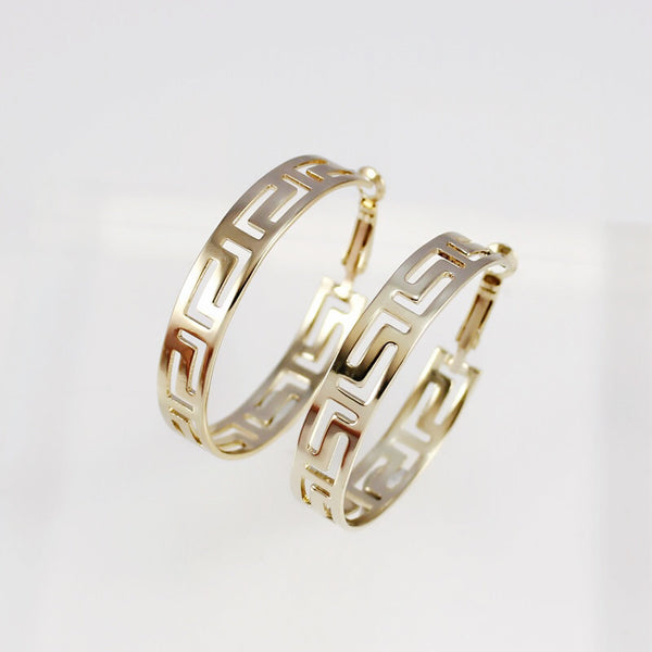 Coromandel Hoop Earrings