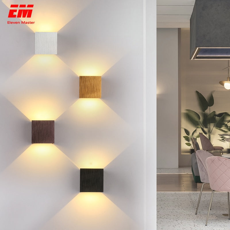 LED Indoor Lighting Wall Lamp Modern Home Lighting Decoration Aluminum Lamp- Emberic - EMBERIC