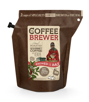 Kava Coffeebrewer - Kenya (Medium / Strong), Fairtrade, 1 pakelis (2 puodeliai kavos)