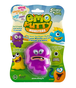 Išmanusis plastilinas Emo Putty Monsters (Fila)