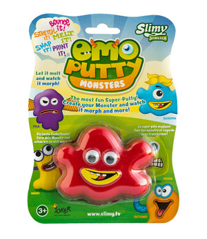 Išmanusis plastilinas Emo Putty Monsters (Quadra)