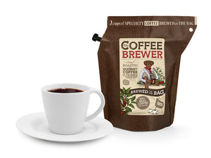 Kava Coffeebrewer - Colombia (Medium / Strong), Fairtrade & Organic, 12 pakelių dėžė (24 puodeliai kavos)