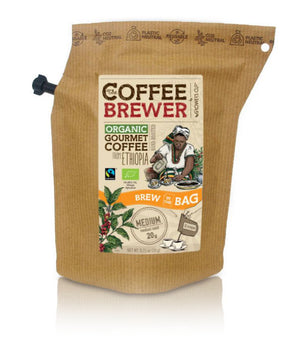 Kava Coffeebrewer - Ethiopia (Medium), Fairtrade & Organic, 1 pakelis (2 puodeliai kavos)
