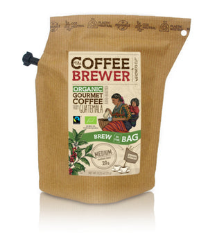 Kava Coffeebrewer - Guatemala (Medium), Fairtrade & Organic, 1 pakelis (2 puodeliai kavos)