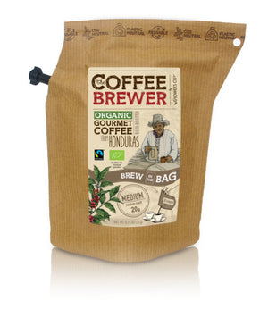 Kava Coffeebrewer - Honduras (Medium), Fairtrade & Organic, 1 pakelis (2 puodeliai kavos)