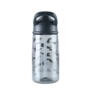 Vaikiška gertuvė LittleLife Kids Flip-Top Water Bottle, 550 ml. (Camo)