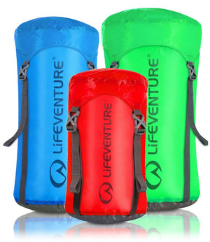 Kompresinis maišas Lifeventure Ultralight Compression Sack (5 / 10 / 15 litrų talpos)