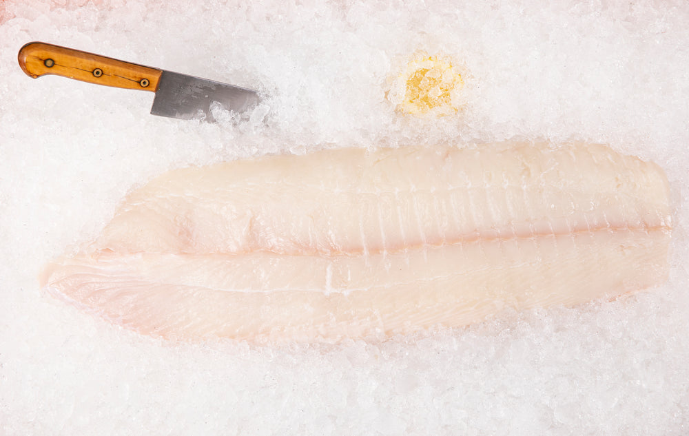 "Load image into Gallery viewer, Fresh Alaskan Halibut ""Center Cut"" Filet $19.00lb"