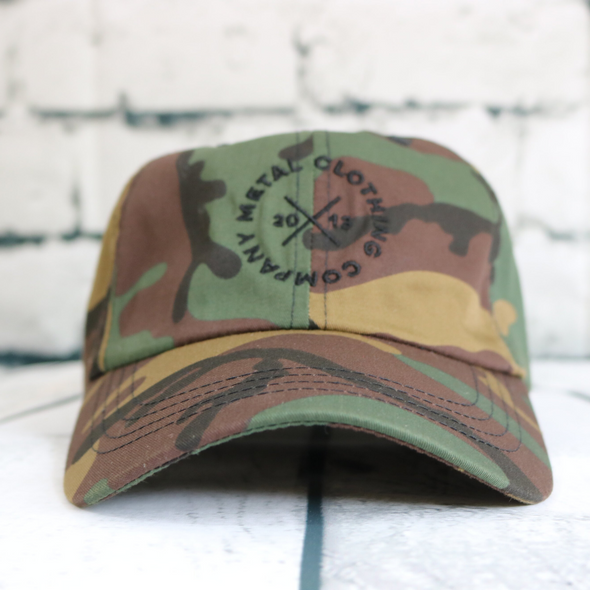 Metal Ellipse Camo Dad Hat