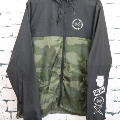 Metal Ellipse - Mashup Camo Windbreaker