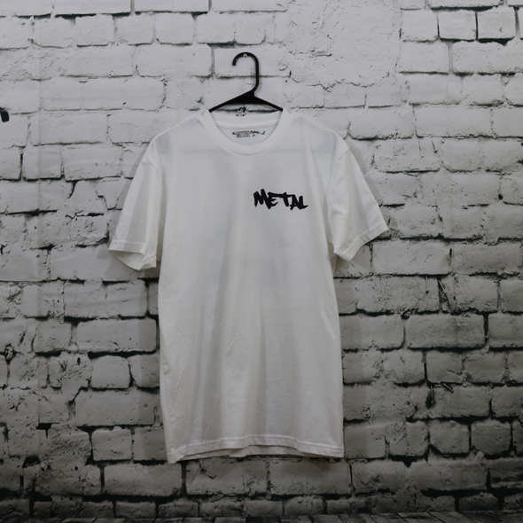 Metal X - Graffiti White Tee