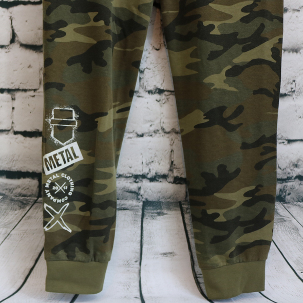 Metal Mashup Camo Sweatpants