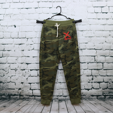 Metal X Camo Sweatpants