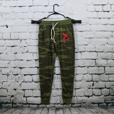 Women's Metal X Lightweight Fleece Camo Jogger.