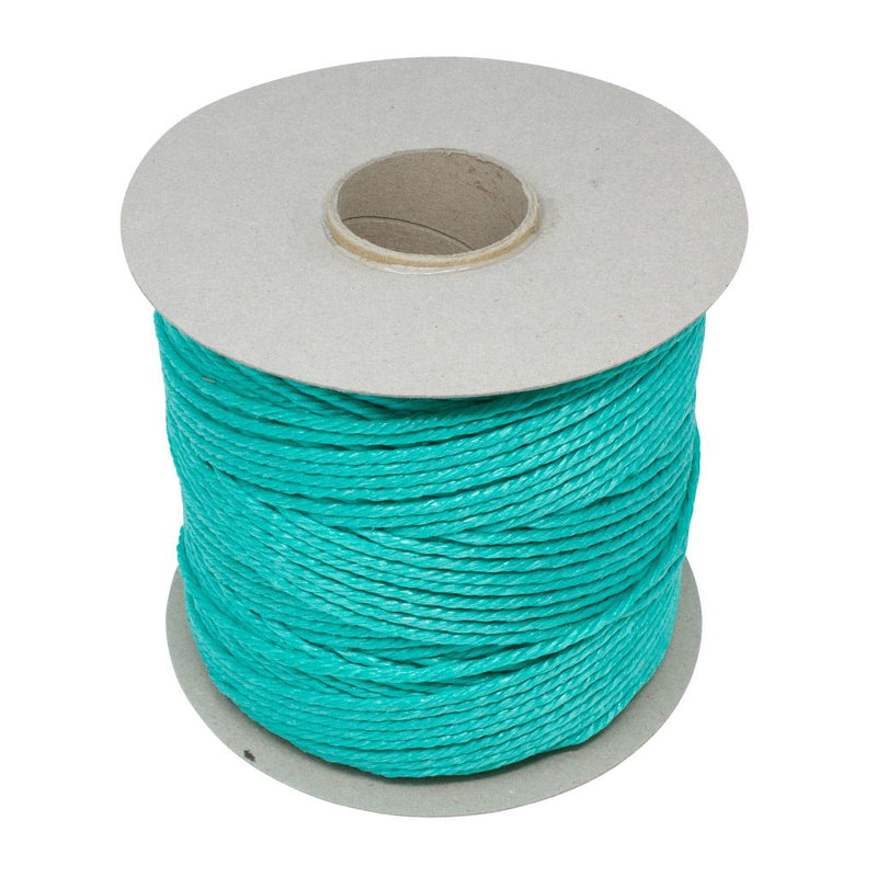 Polypropylene 1.7Kg Green Baling Twine With Flange