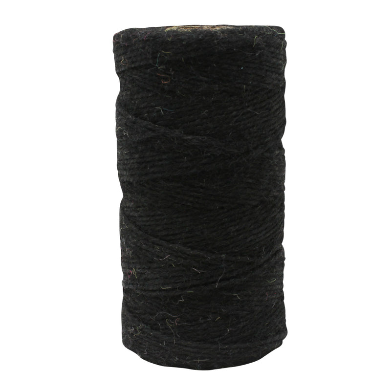 3 Ply Black Jute Twine Reel