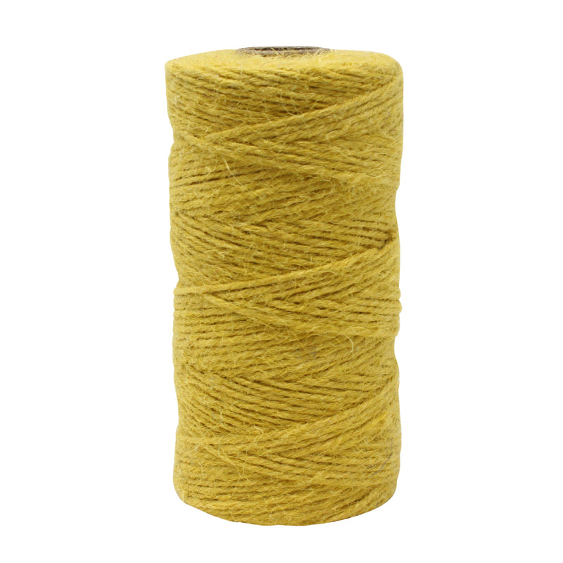 3 Ply Mustard Jute Craft Twine Reel