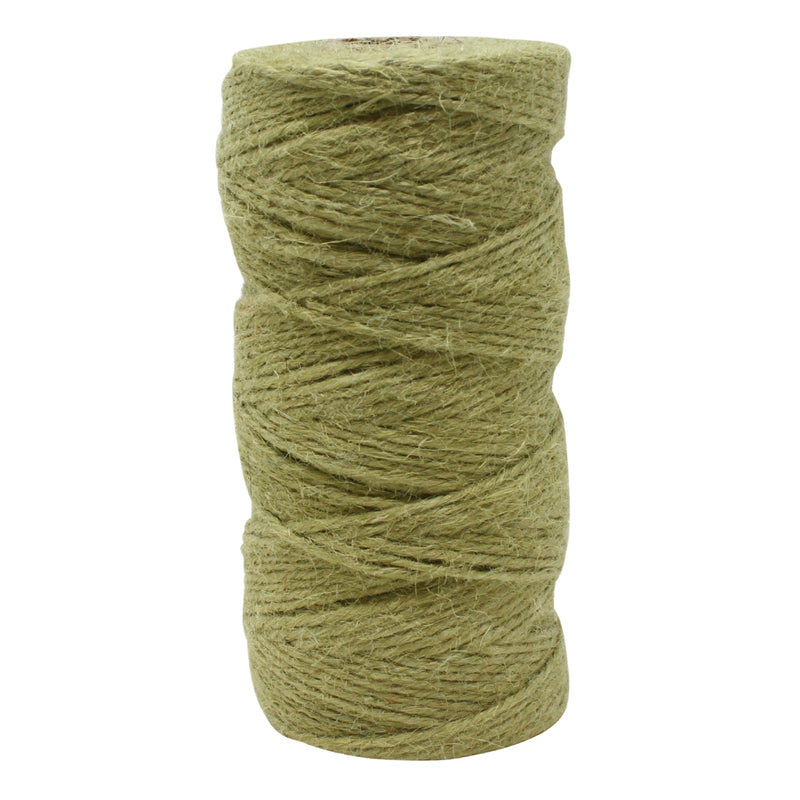 3 Ply Olive Jute Craft Twine Reel