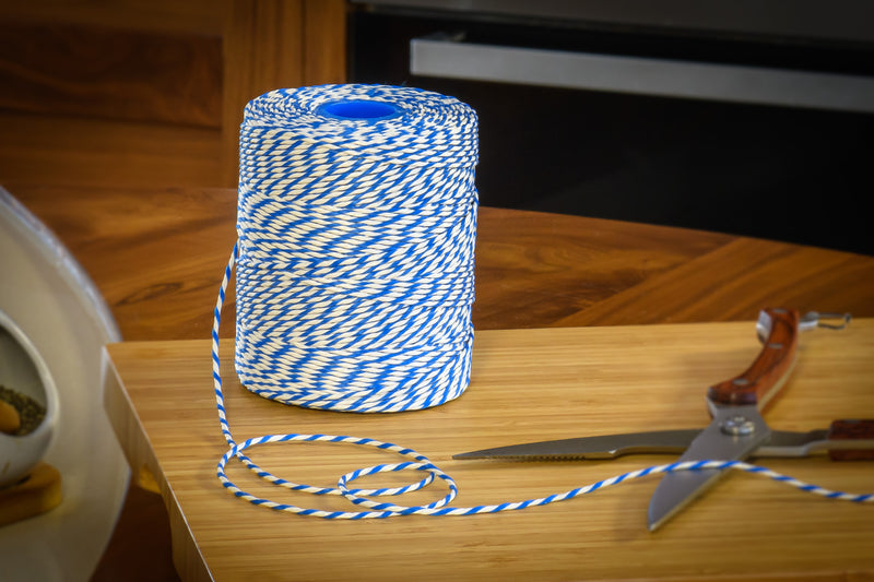 No.5 Blue & White Butchers Football Twine