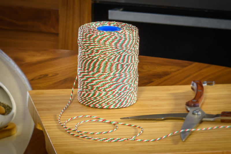 No.5 Red, White & Green Butchers String/Twine