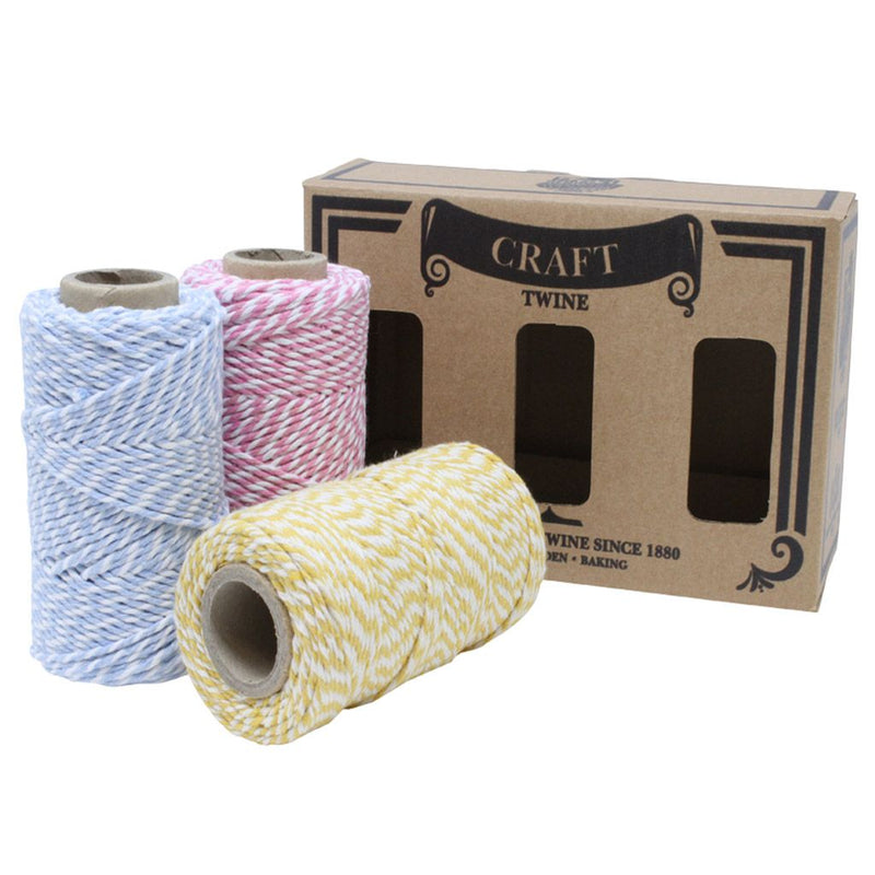 Baby Shower Craft Twine Box